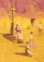 Marie Ban Kříž u cesty