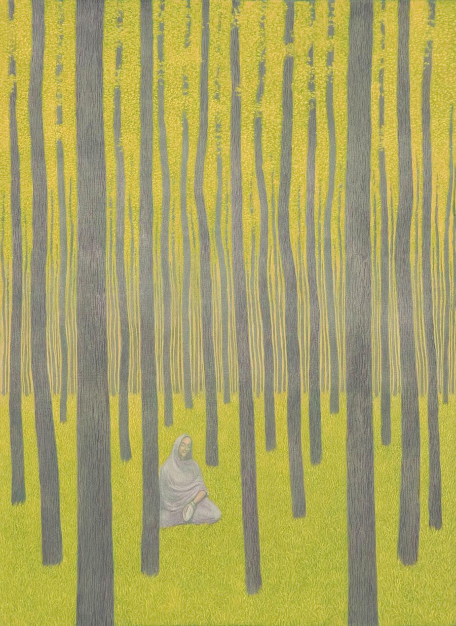 Marie Ban Yellow Meditation