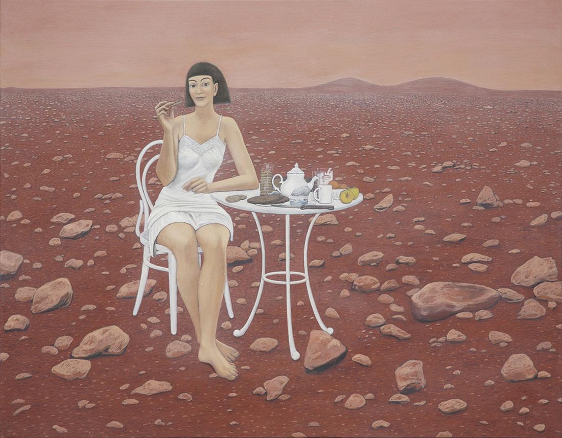 Marie Ban Breakfast on the Mars