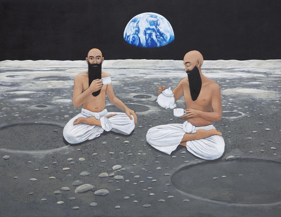 Marie Ban Té en la Luna