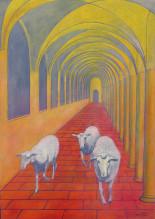 Marie Ban Tři ovečky Boží