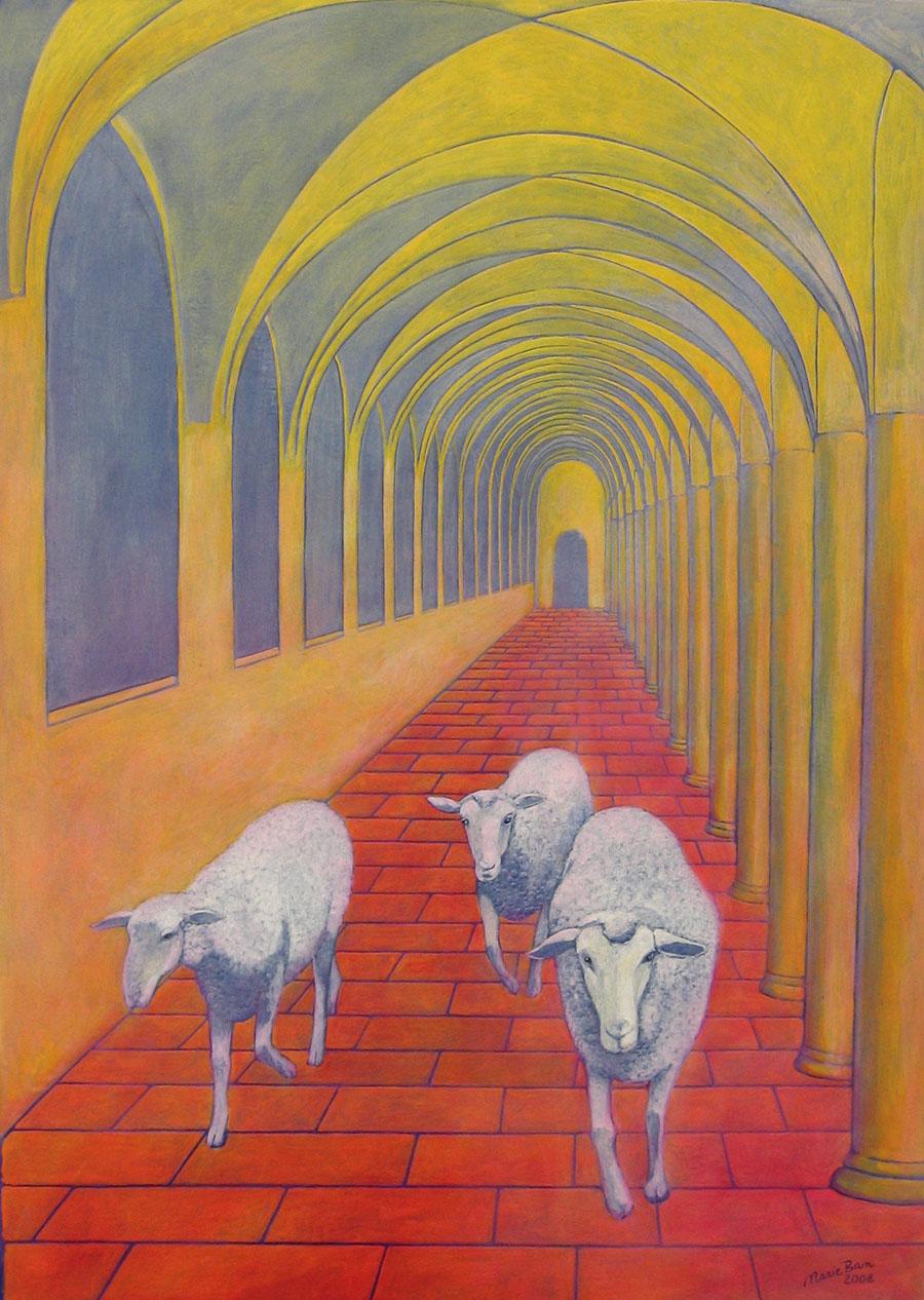 Marie Ban Three God's Lambs