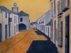 Marie Ban siesta in Estepona