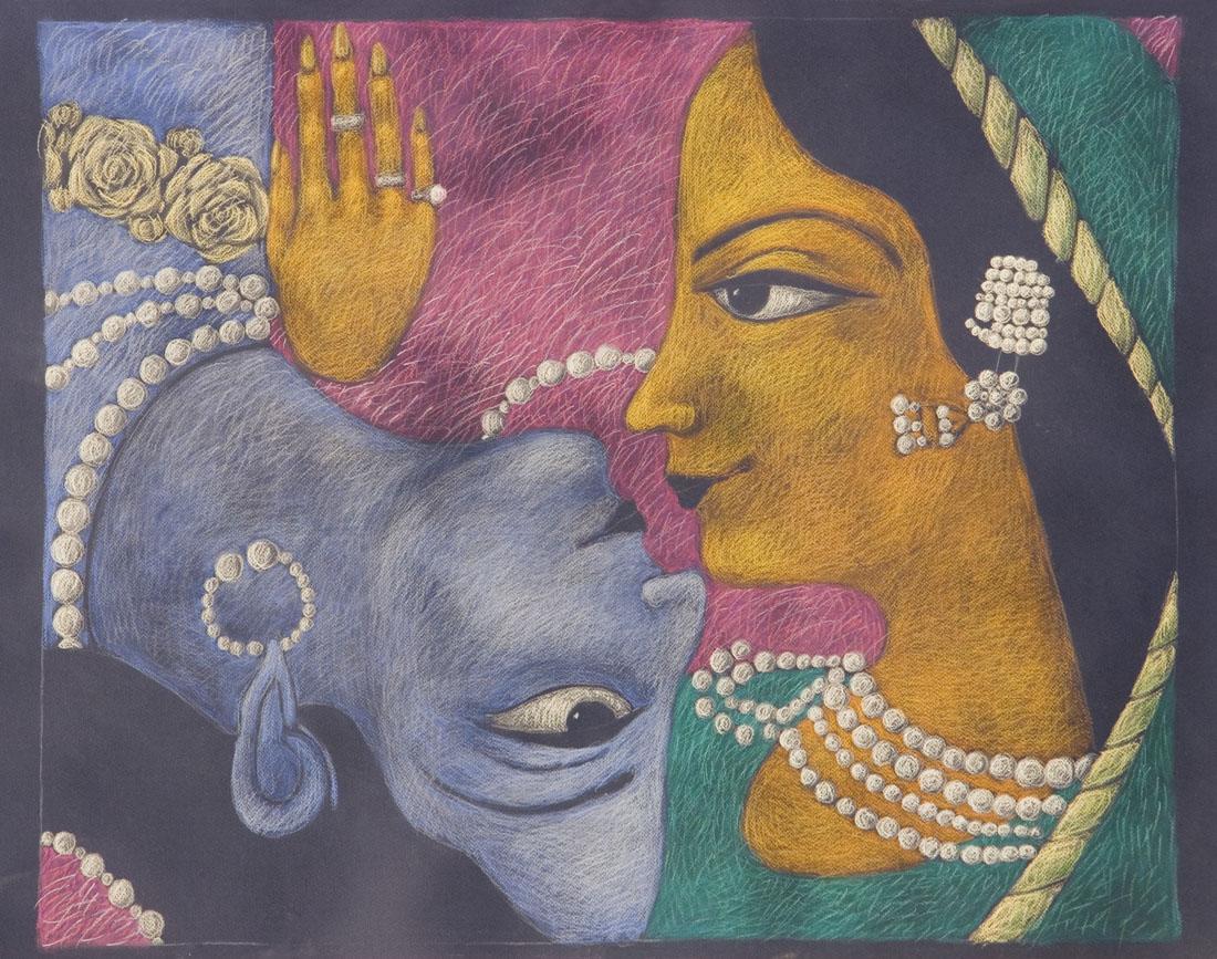 Marie Ban Radha and Krishna