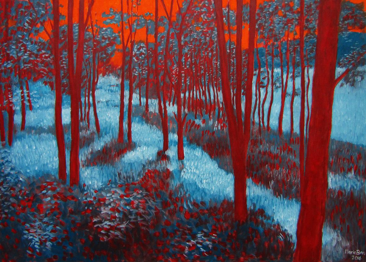 Podvečerní lesík